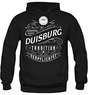 3XL shirtloge Fussball Fan T-Shirt Gr/ö/ße S Duisburg Meine Heimat Mein Verein Fanblock