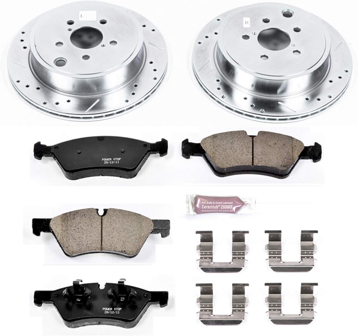 K5883 Z23 Evolution Sport Brake Kit Rear Power Stop