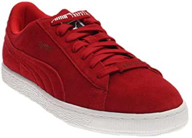 sports shoes f6546 2ebdd PUMA Mens Trapstar Suede Casual Sneakers,