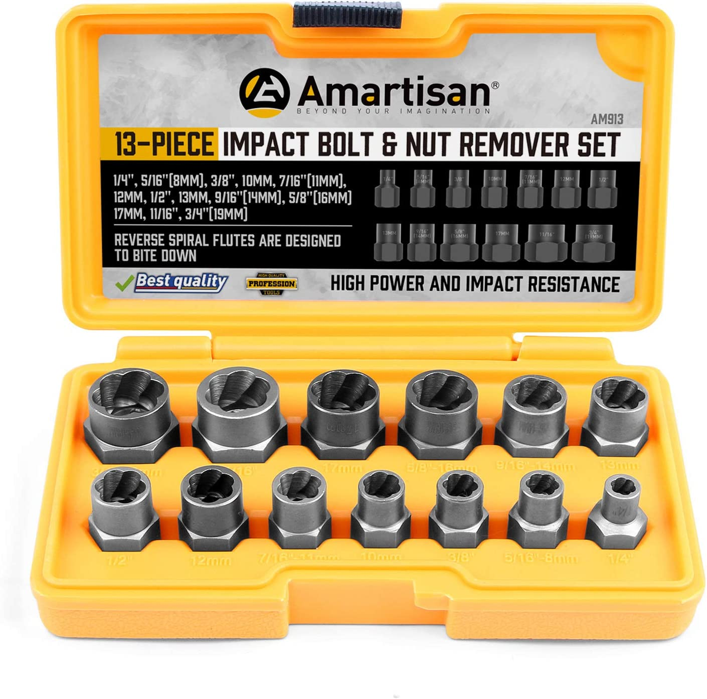 Aexit Metal Screw Tube Fittings Nut Extractors Handheld Removers Tool Set Microbore Tubing Connectors 6 Pieces
