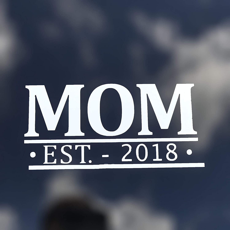 Custom Year Mom Vinyl Decal Window Sticker