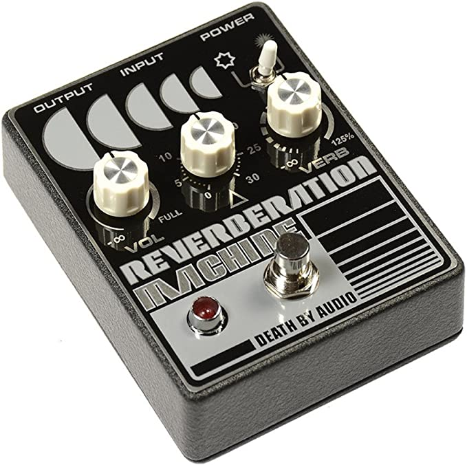 Amazon Com Death By Audio Reverberation Machine Effect Pedal Musical Instruments