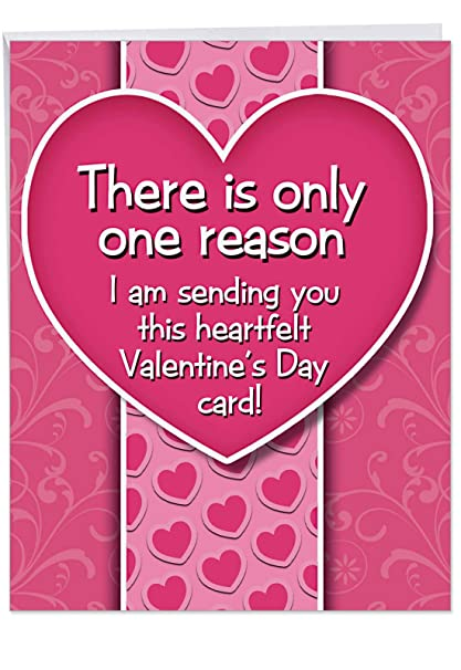 Amazon Com Jumbo Btch If I Didnt Valentine S Day Card Funny