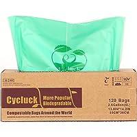 Cycluck 120 Bolsas 6L Bolsa de Basura ecológica
