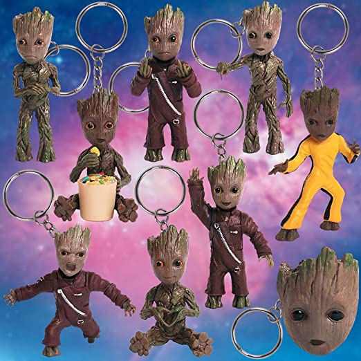 Amazon.com: Pop bebé Groot figura de acción Llavero ...