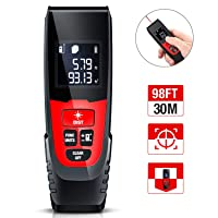 Deals on BEBONCOOL 98Ft M/in/Ft Digital Laser Tape Measure