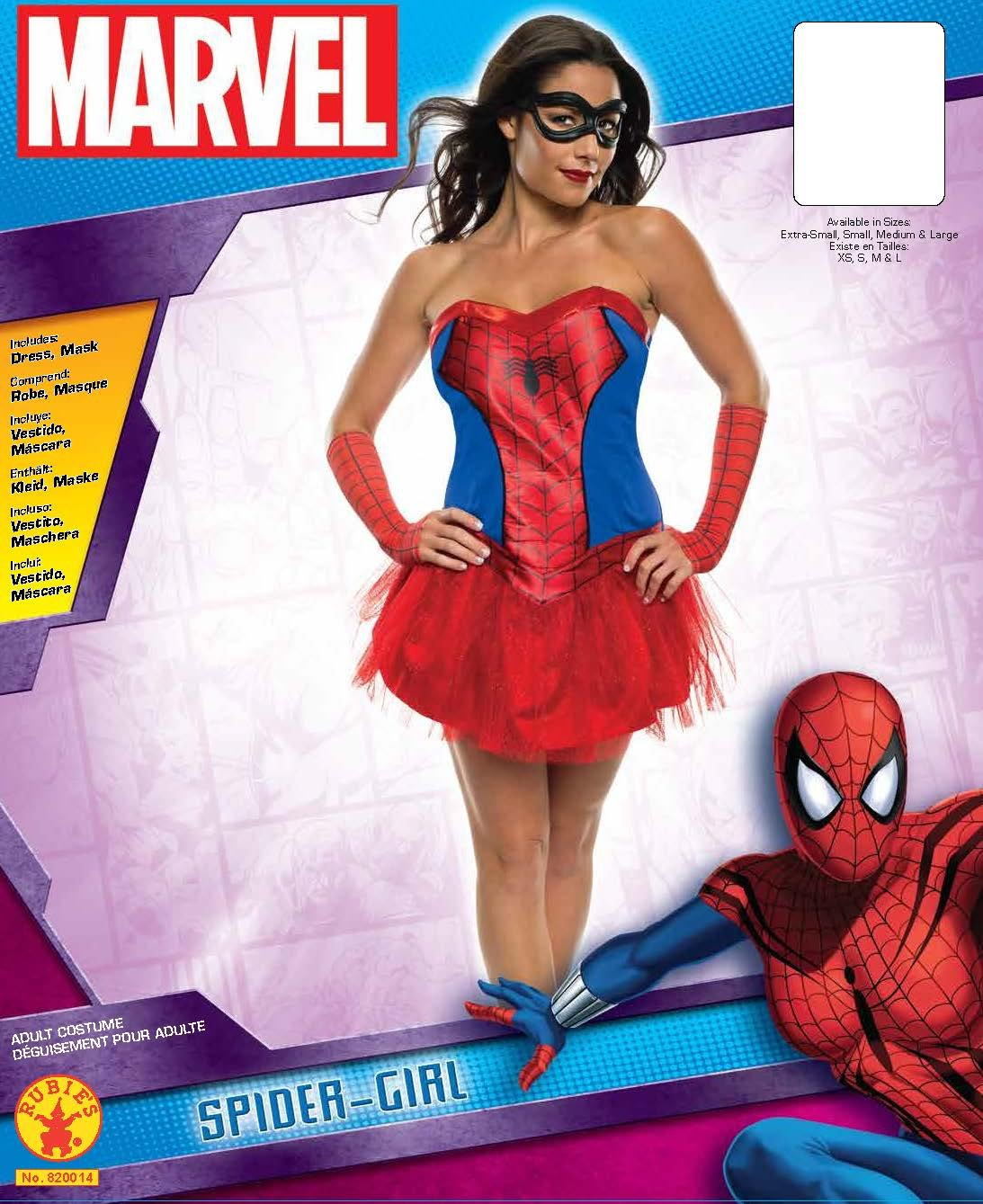 Costume Marvel Spidergirl Kit Déguisements Femme f7g6yYb