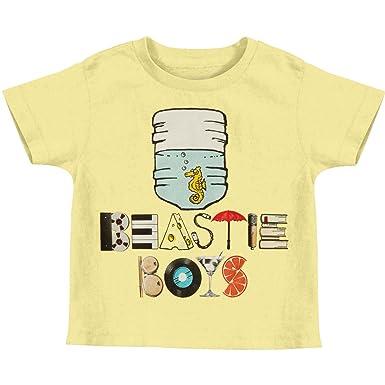 a311895c Beastie Boys Little Boys' Water Cooler Sea Horse Toddler Childrens T-Shirt  6 Yellow