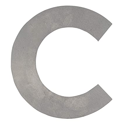 Amazon.com: Big Metal Letters C (8.25