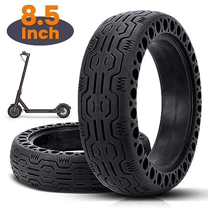 azamp 8 1/2 Honeycomb neumático de Goma Maciza, Neumático de Rueda de Repuesto de 8.5 Pulgadas neumático de Scooter sólido,para Rueda Llanta de ...