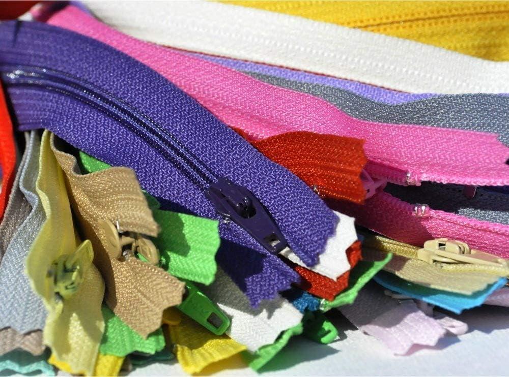 SALE 7\ Zipper Assortment YKK #3 Skirt /& Dress Color Black /& White 50 Zippers // Pack