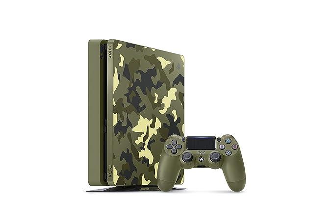 e0e9e596c506a PlayStation 4 Slim 1TB consola edición limitada - Call of Duty WWII  Sony   Amazon.com.mx  Videojuegos