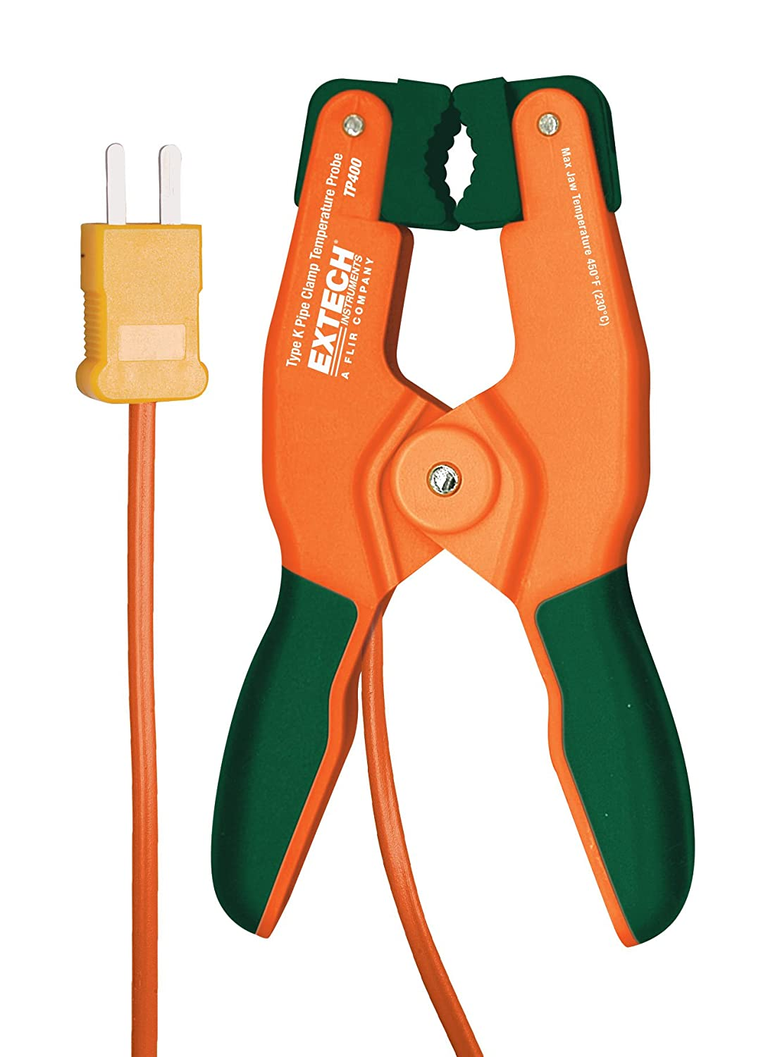 Extech Instruments TP400 Type K High Temperature Pipe Clamp Probe