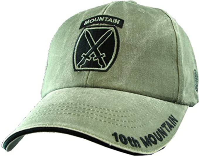 c748204ef57 Image Unavailable. Image not available for. Color  US Army 10th Mountain  Division OD Green Ball Cap