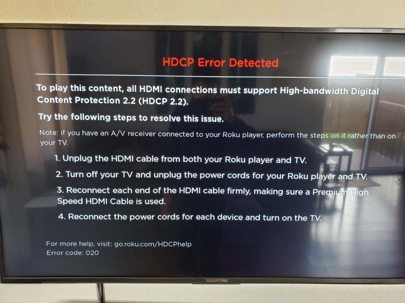 Zeskit HDMI Cable 3ft (4K 60Hz HDR UHD 4:4:4) - HDCP 2 2 - HDMI 2 0