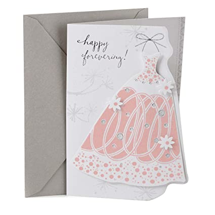 hallmark wedding shower card dress