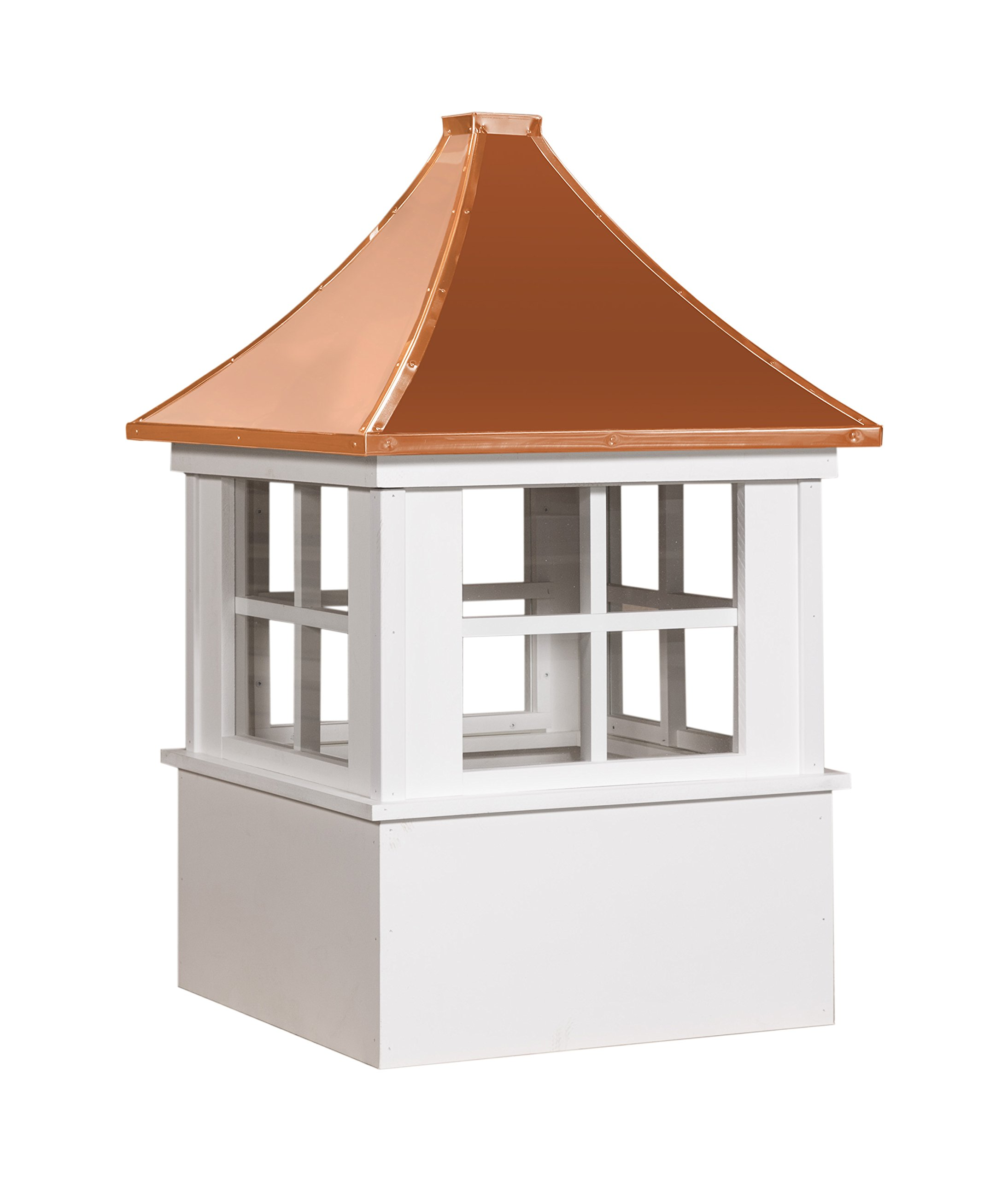 East Coast Weathervanes and Cupolas Vinyl Deerfield Cupola (Vinyl, 21'')