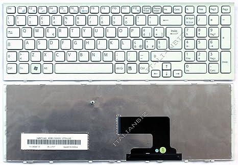 Teclado italiana para ordenador portátil Sony VAIO VPCEH Series VPCEH2 N1E/W VPCEH2Q1E/W