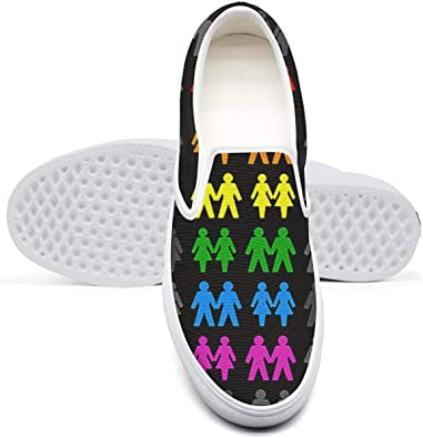 Rainbows Design Youth Classic Canvas Sneakers Comfortable Runners