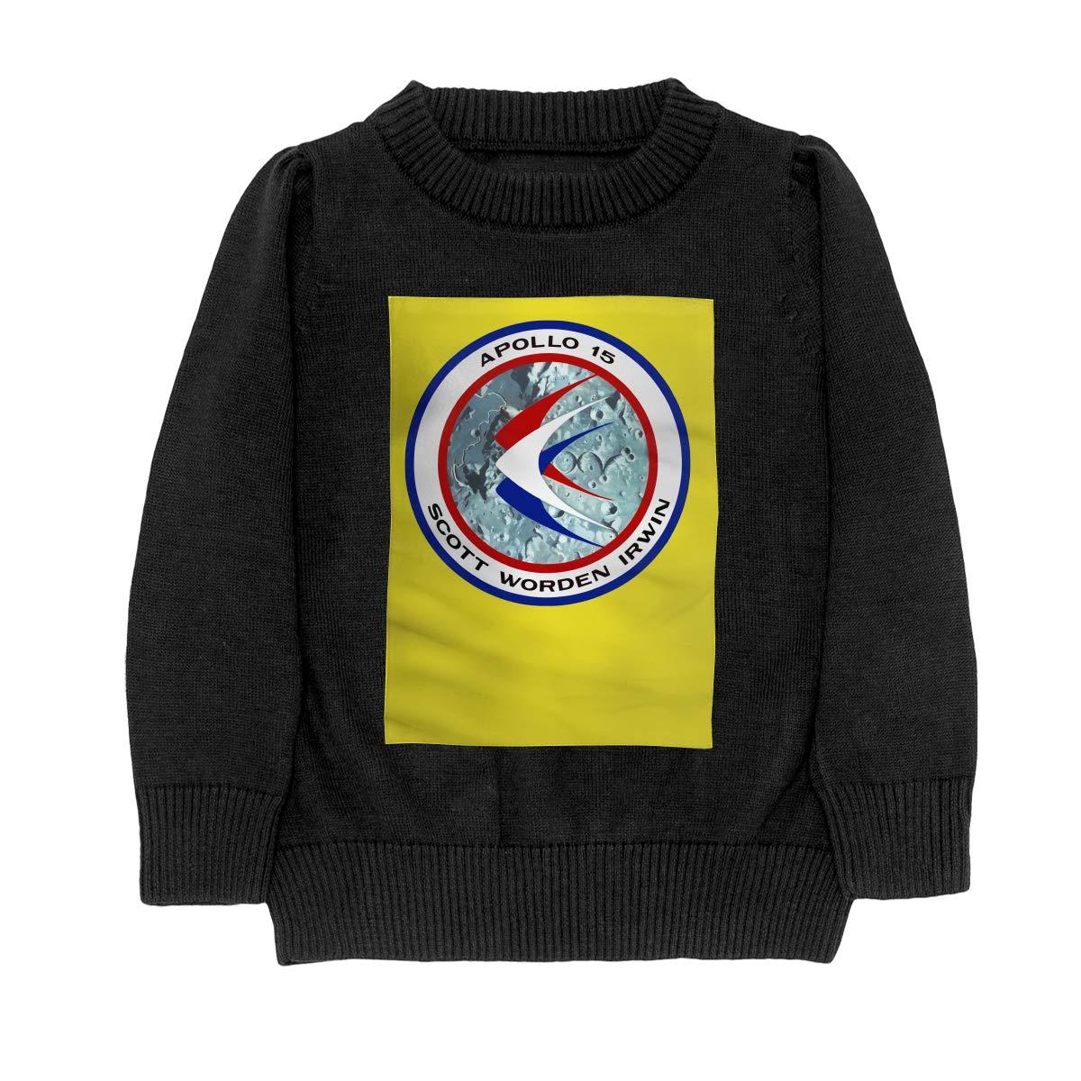 Apollo 15 Insignia Fashion Adolescent Boys Girls Unisex Sweater Keep Warm