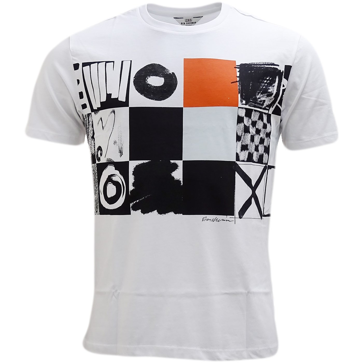 Ben Sherman Boxes T-Shirt - Mb13444 White XL