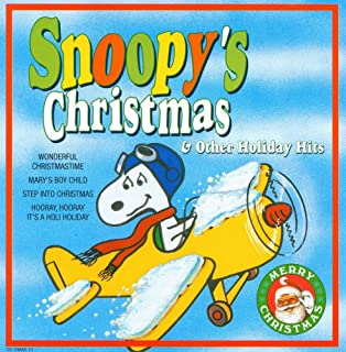 snoopys christmas other holiday hits