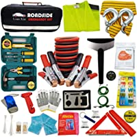 $41 » Roadside Assistance Emergency Kit - Multipurpose Emergency Pack Car Premium Road Kit Essentials…