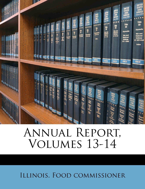 Download Annual Report, Volumes 13-14 PDF