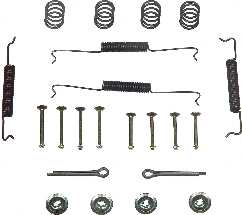 Wagner H17163 Drum Brake Hardware Kit, Rear