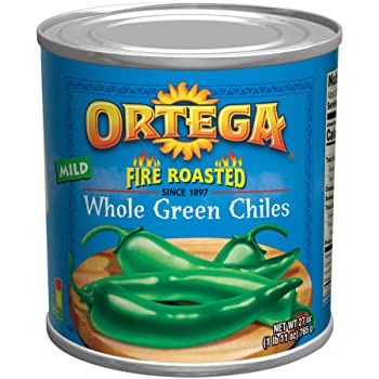 Ortega Green Canned Chilies