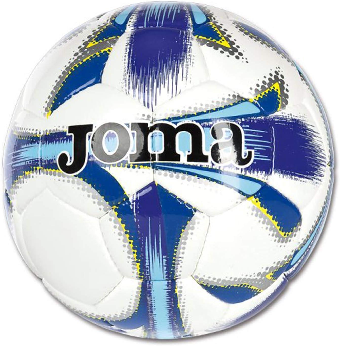 Joma Ropa de Deporte Balon Dali T3 Blanco-Marino Soccer Ball ...
