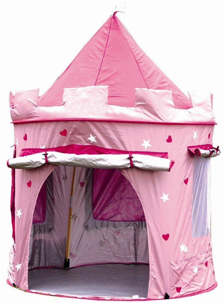 Amazon.com KiddyPlay Deluxe Pink Pop-Up Castle Play Tent by KiddyPlay Toys u0026 Games  sc 1 st  Amazon.com & Amazon.com: KiddyPlay Deluxe Pink Pop-Up Castle Play Tent by ...