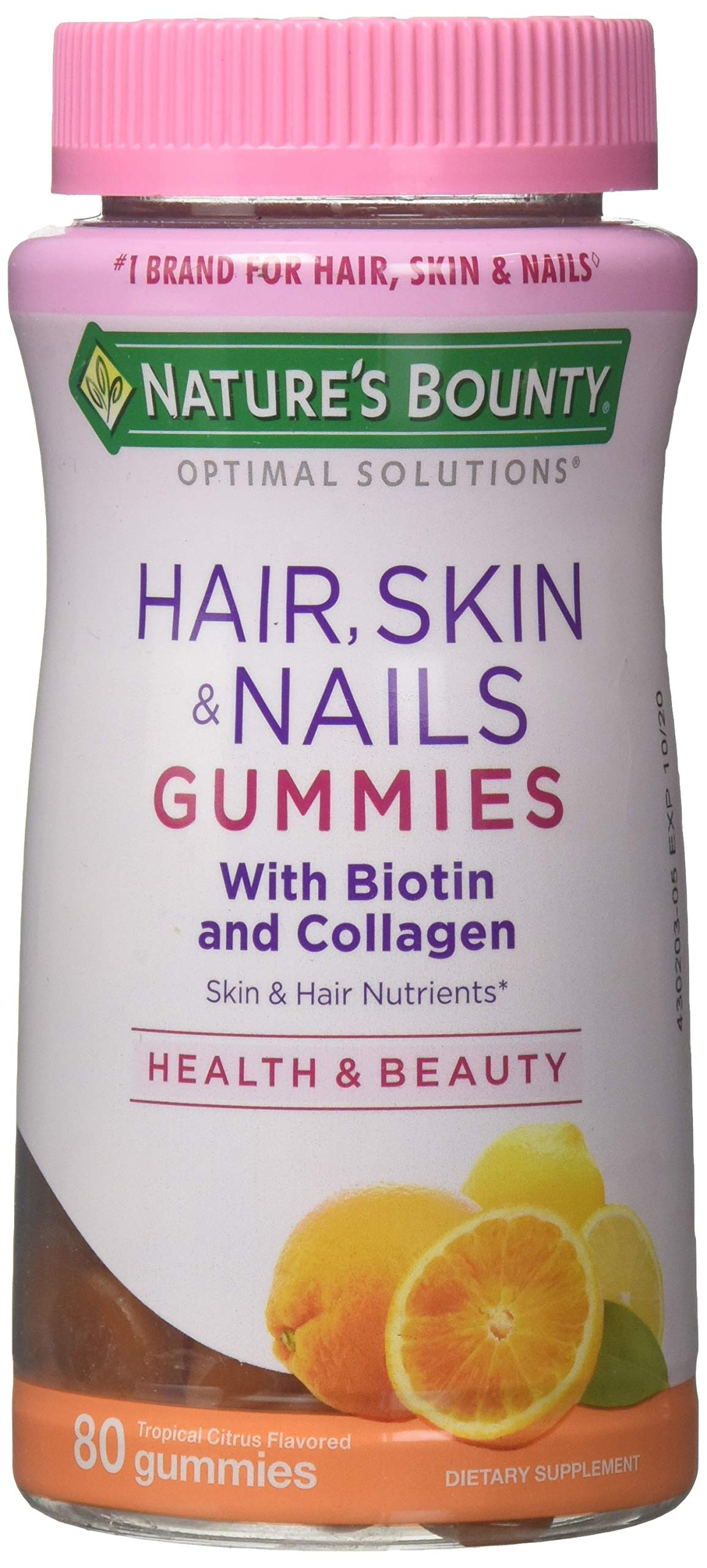 Nature S Bounty Vitamin Biotin Optimal Solutions Hair Skin