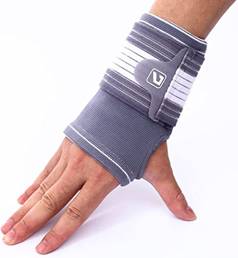 Liveup SPORTS Arthritis Wrist Support Brace with Wraps from Tennis Gym  Working- Single Packed-LS5671: Amazon.co.uk: Sports & Outdoors