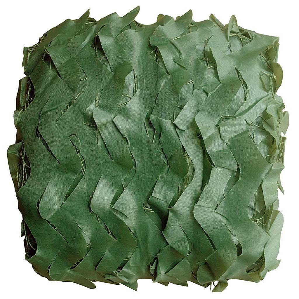 Filet de camouflage vert pur, viseur en tissu épais en tissu de polyester Oxford 210D, élevage, aventure cachée dans la jungle, couverture de camping, scène d'arrière-plan, décoration, exposition à th  8x10