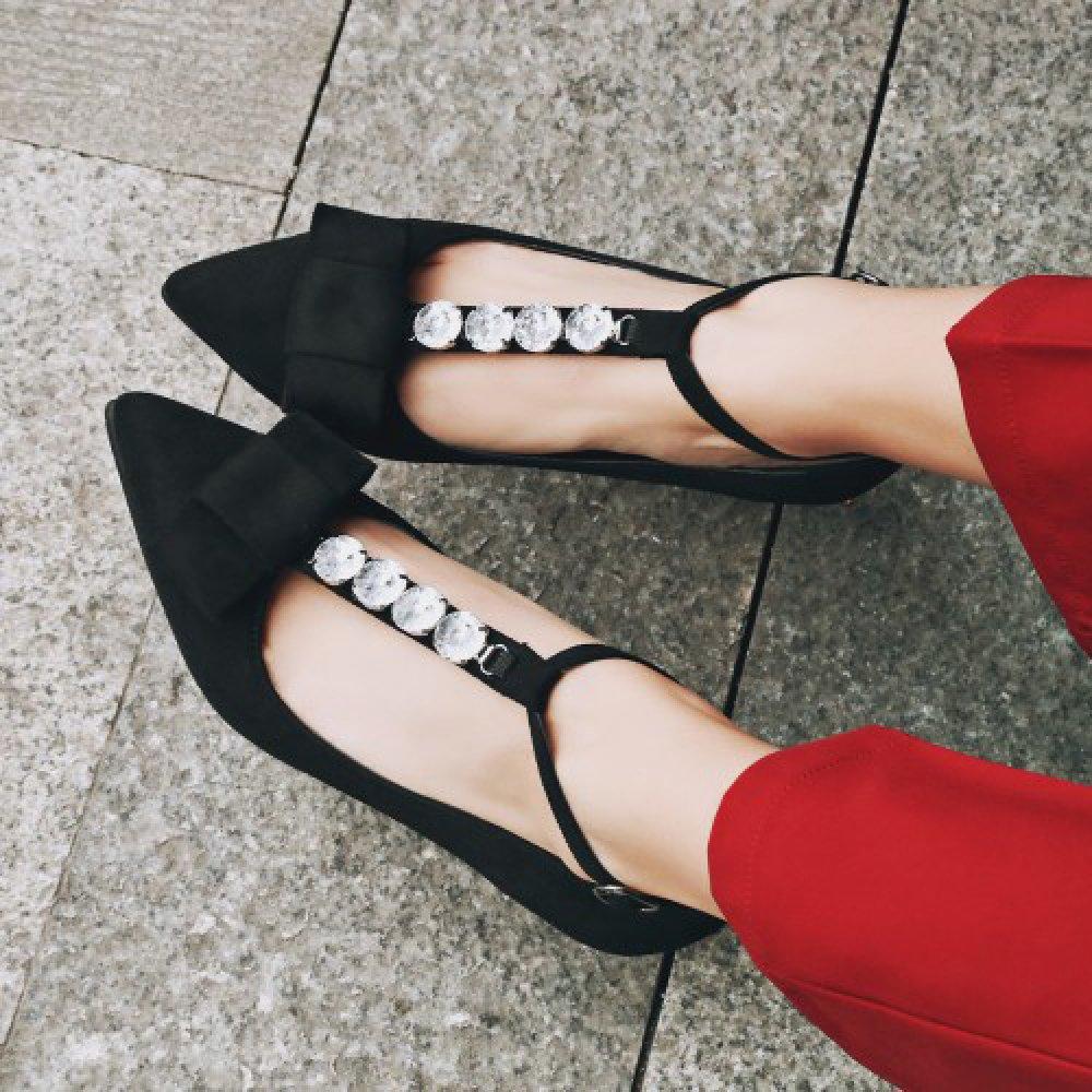 Damen Damen High Stöckel Absatz Strass Schnalle Spitze Hof Schuhe Sandalen Pumps Ankle Strap Sandalen Schuhe 808205
