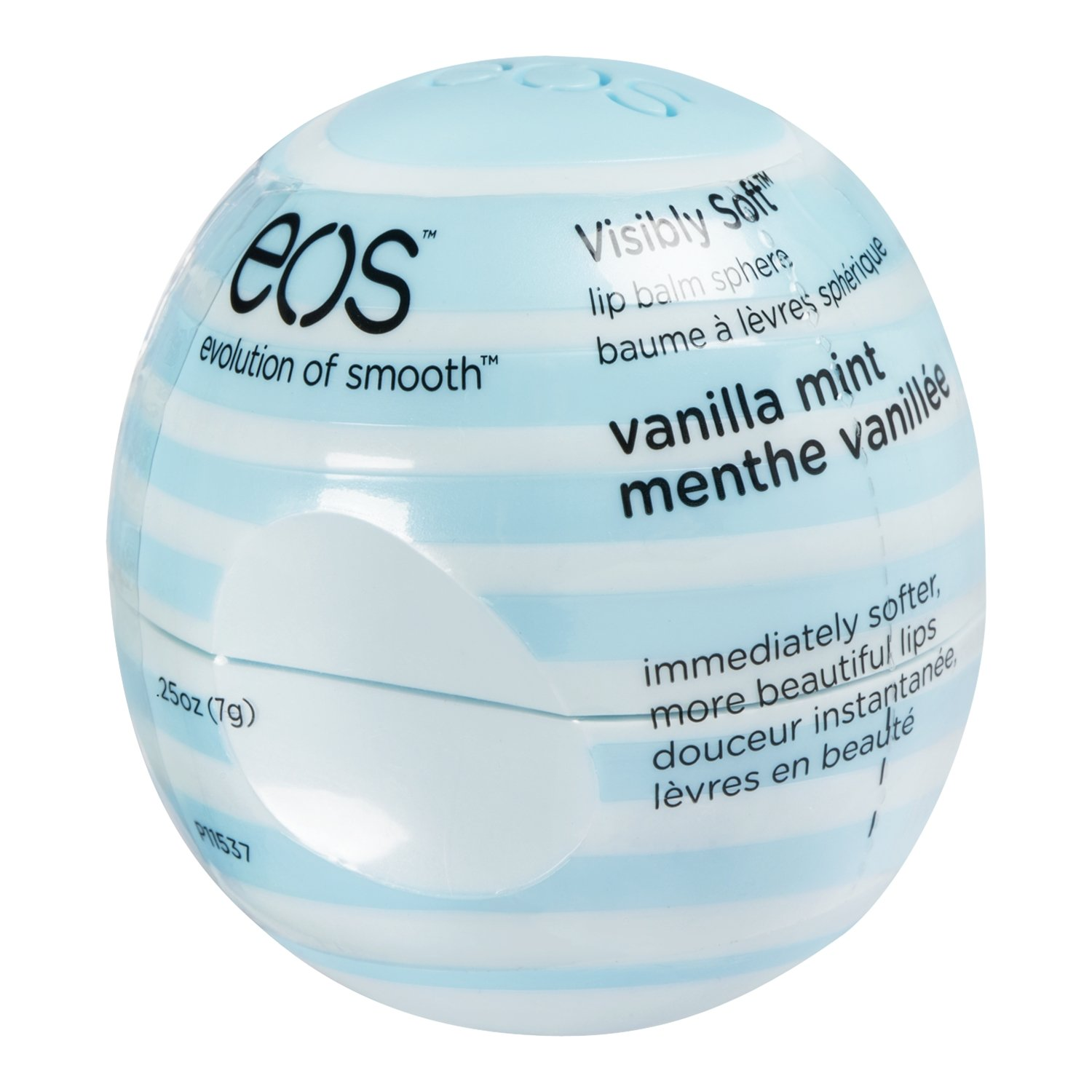 eos Vanilla Mint Visibly Soft Lip Balm, Shrink Wrapped, 7g, Pack of 1 ANB Canada 147701