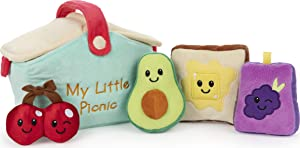 GUND Baby My Little Picnic Stuffed Plush Playset, 5 Pieces, 7