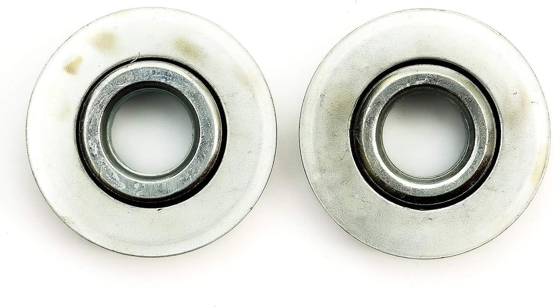 2x Heavy Duty Wheel Roller Bearings Reducer 35mm to 12mm Bore Wheelbarrow Barrow
