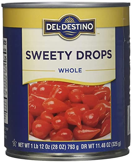 """Sweety Drops"" (Pickled Biquinho), 28 Oz"
