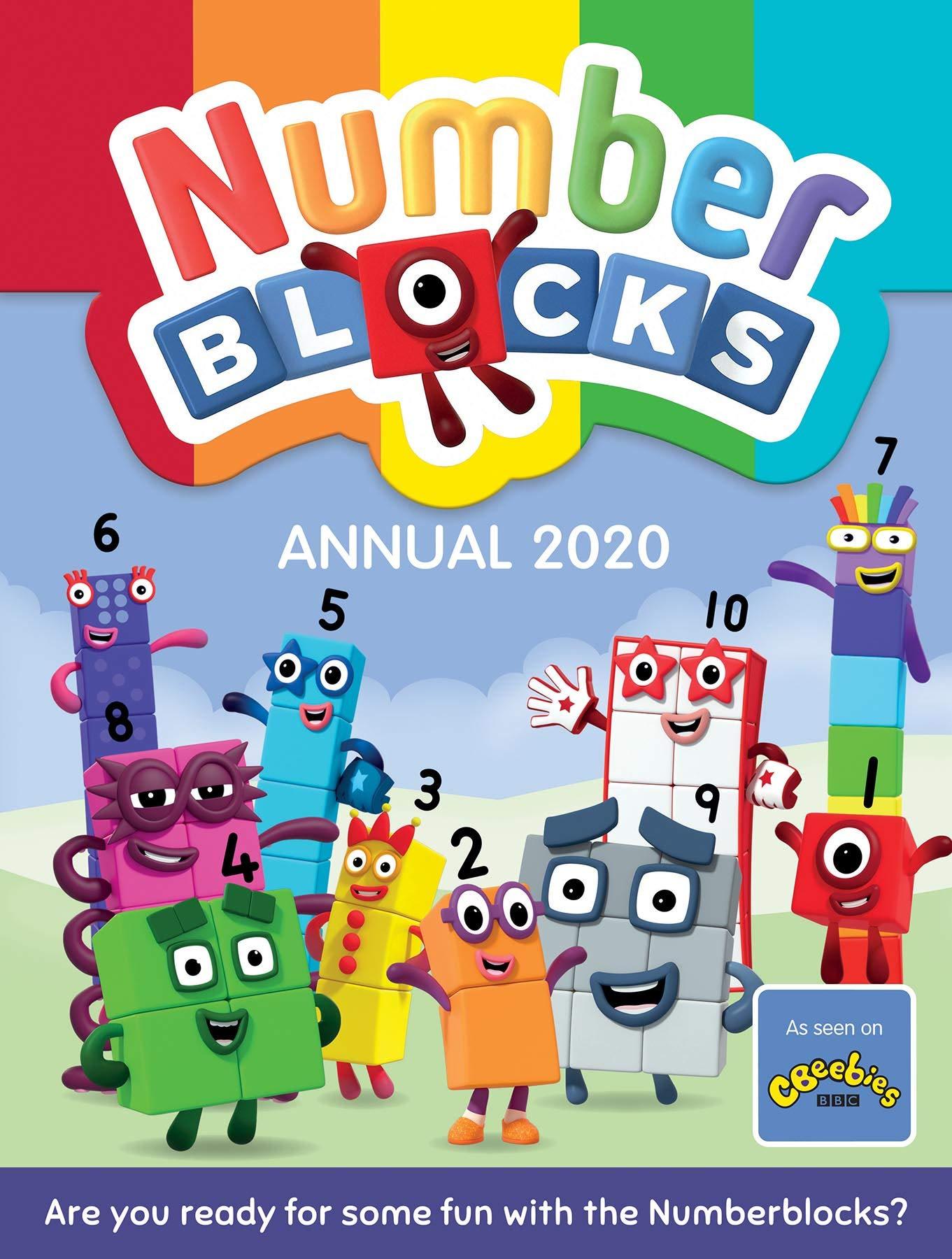 Amazon Com Numberblocks Annual 2020 9781782265955 Sweet Cherry Publishing Books