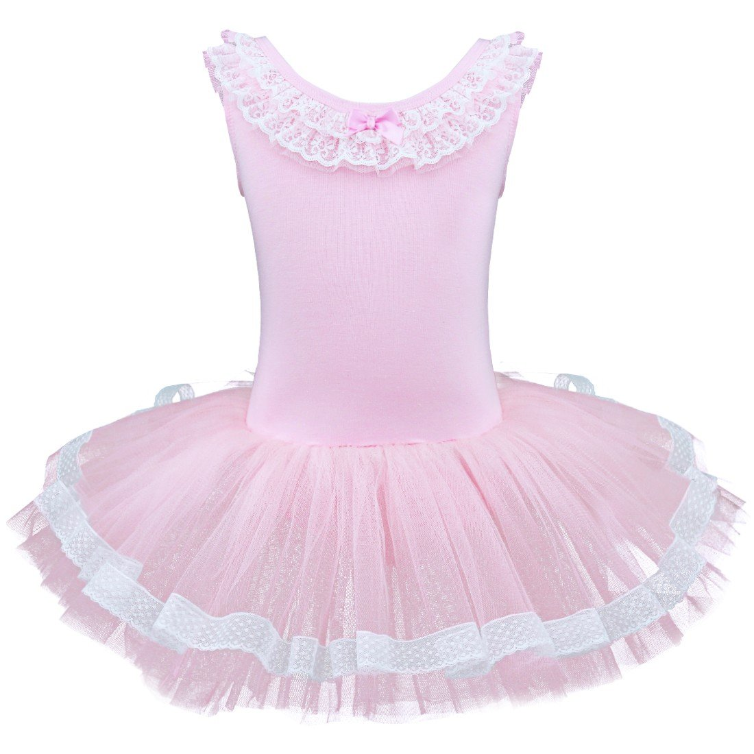 ACSUSS DRESS ガールズ B07H7CMT3L  ピンク 43560