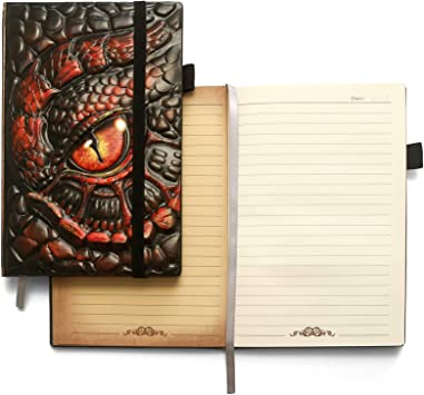 ZYWJUGE Embossed Leather Journal Writing Notebook Dragon Gifts for Women /& Men A5 Antique Handmade Diary Notepad Sketchbook Travel to Write in Journal Notebooks Lined Paper Hardcover