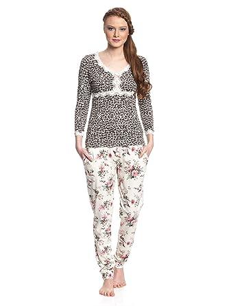 marktfähig 2019 am besten billiger Vive Maria Damen Zweiteiliger Schlafanzug Wild Romance Pyjama