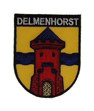 Yantec Wappen Patch Delmenhorst Aufn/äher