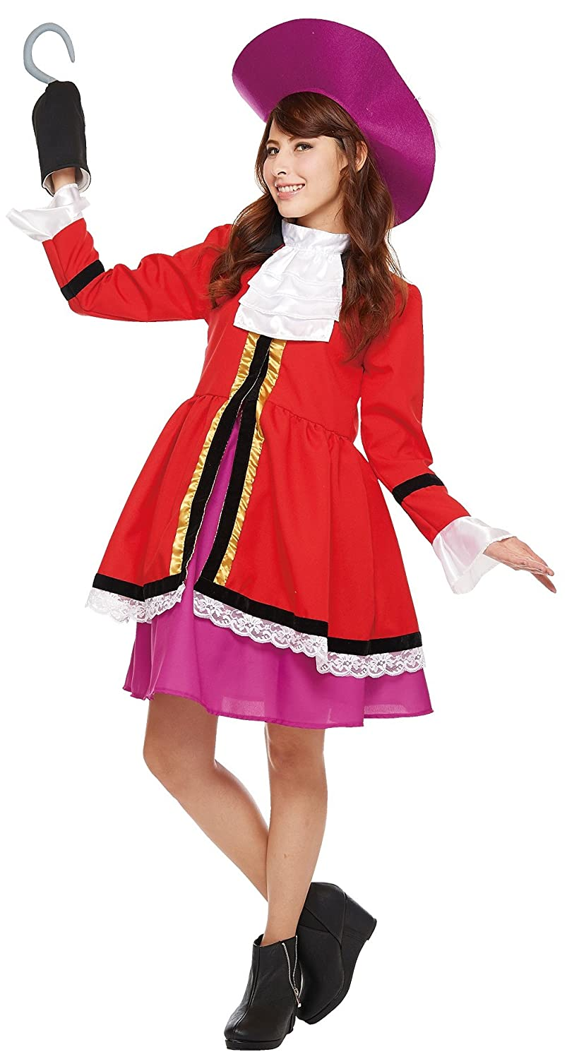 a62a707c7 Amazon.com: Disney's Captain Hook Costume from Peter Pan- Teen ...
