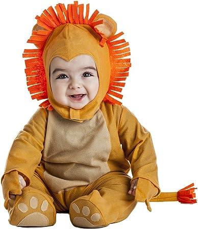 Disfraz de León Infantil (0-6 meses): Amazon.es: Juguetes y juegos
