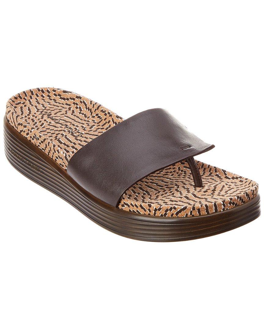 Donald J Pliner Women's FIFI19 Slide Sandal B0756FRXGW 6 B(M) US Brown