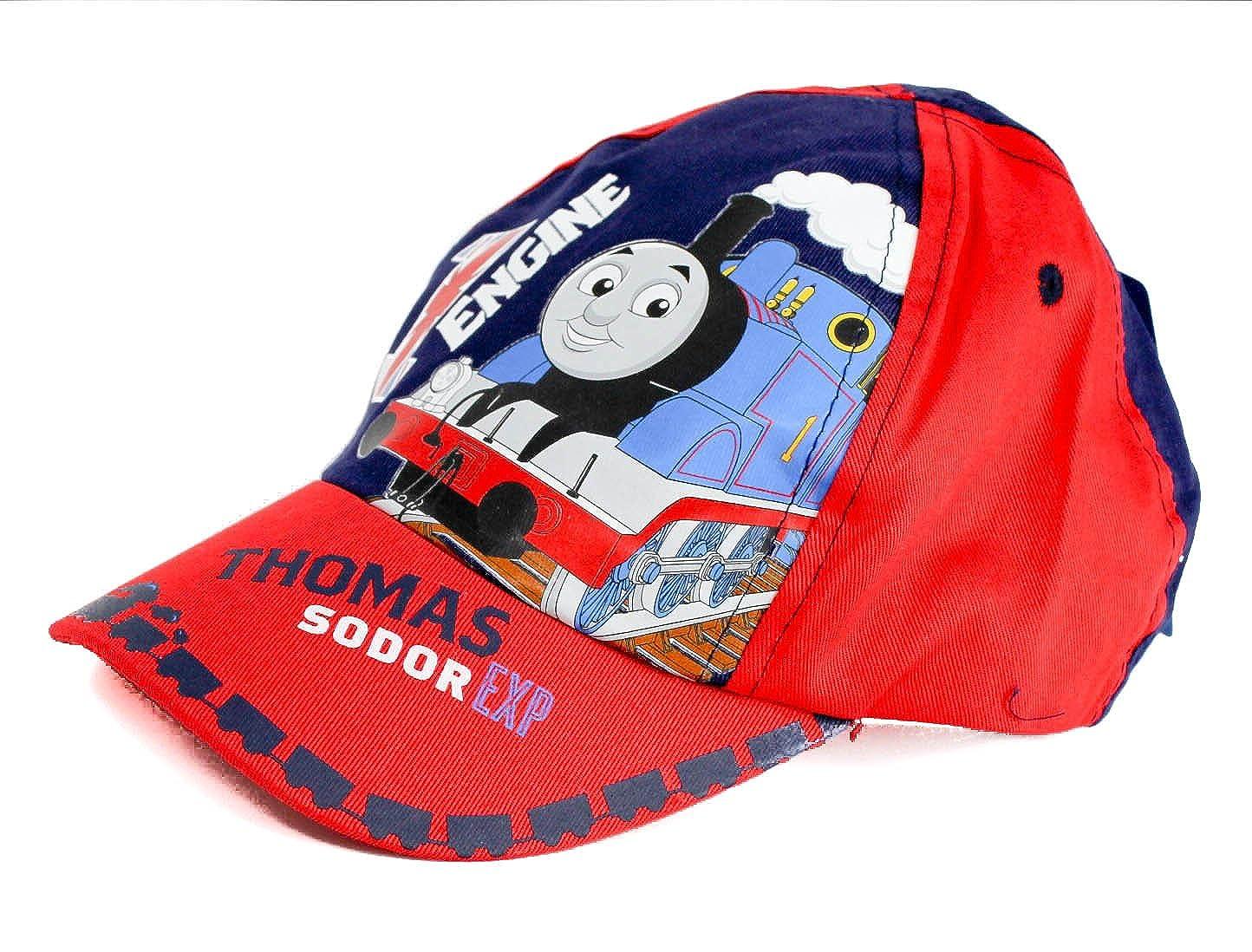 Boys Thomas The Tank Red Sodor Express Sun Cap   Sun Hat 1-4 Years   Amazon.co.uk  Clothing 8464c441850