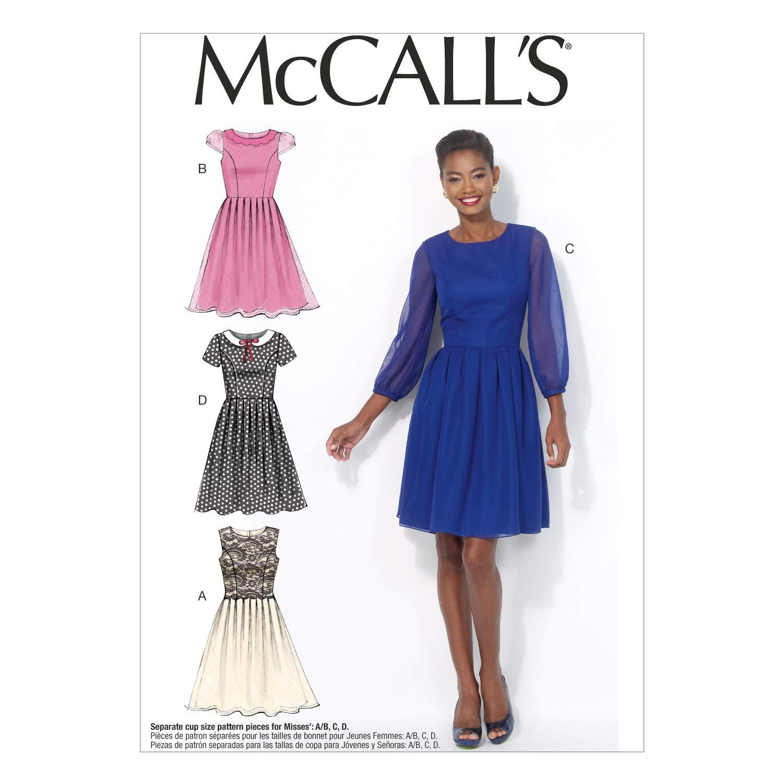Amazon.com: Butterick Pattern Company M7083 Misses\' Dresses, Size A5